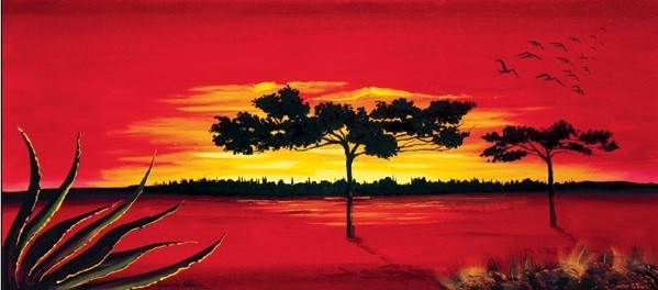 Red Africa Taide