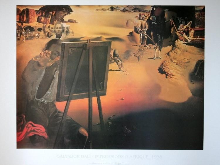Salvador Dali - Impressions D Afrique Taidejuliste