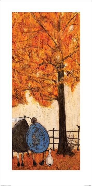 Sam Toft - Autumn Taidejuliste
