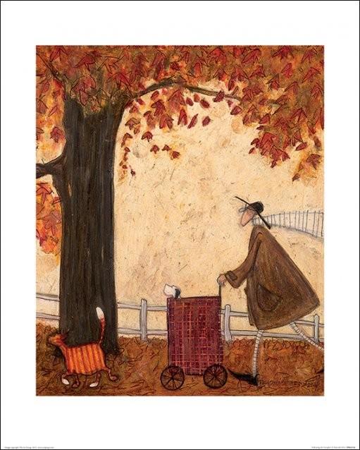 Sam Toft - Following the Pumpkin Taidejuliste
