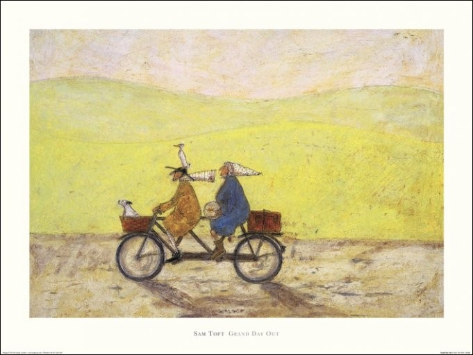 Sam Toft - Grand Day Out Taidejuliste