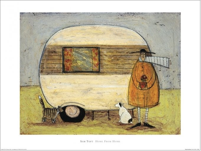 Sam Toft - Home From Home Taidejuliste