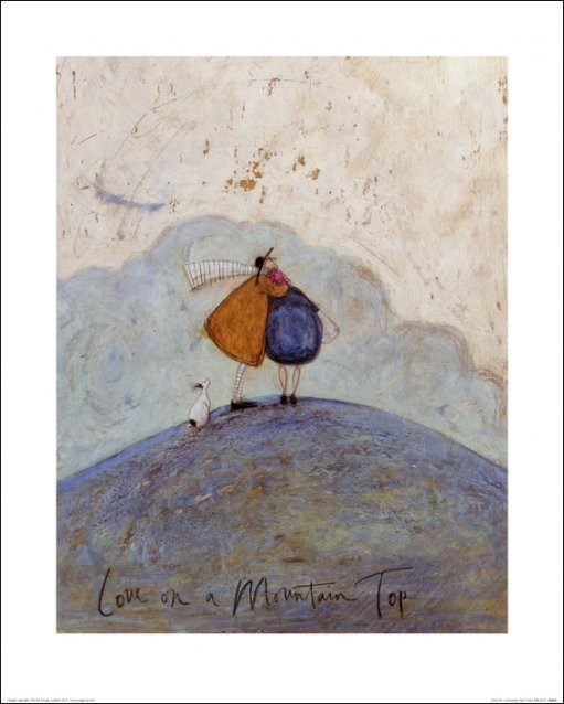 Sam Toft - Love on a Mountain Top Taide