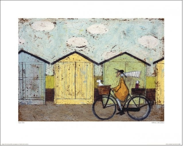 Sam Toft - Off For A Breakfast Taidejuliste