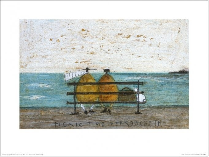 Sam Toft - Picnic Time Approacheth Taidejuliste