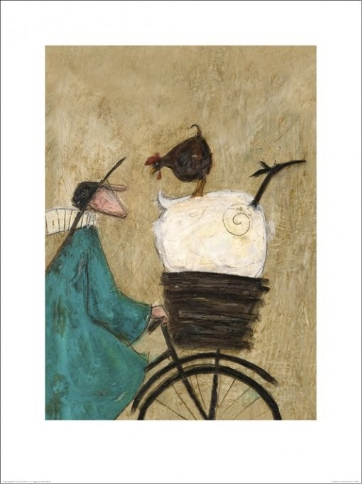 Sam Toft - Taking the Girls Home Taidejuliste