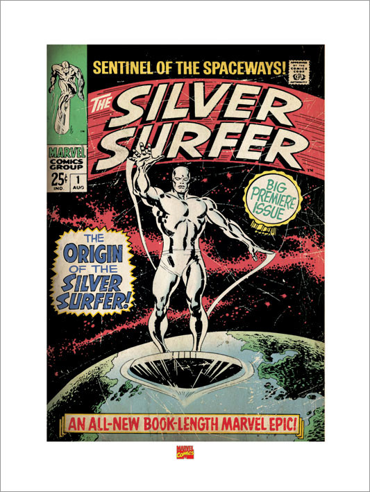 Silver Surfer Taidejuliste