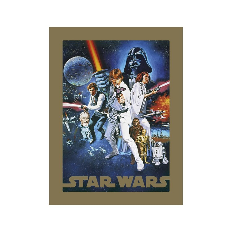 Star Wars - A New Hope Taidejuliste