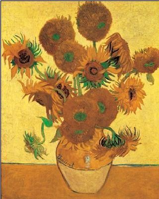 Sunflowers, 1888 Taide