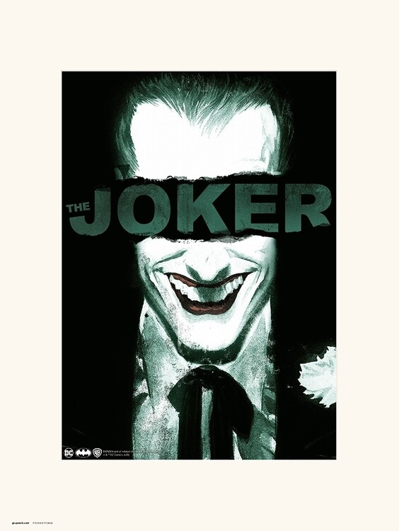 The Joker - Smile Taidejuliste