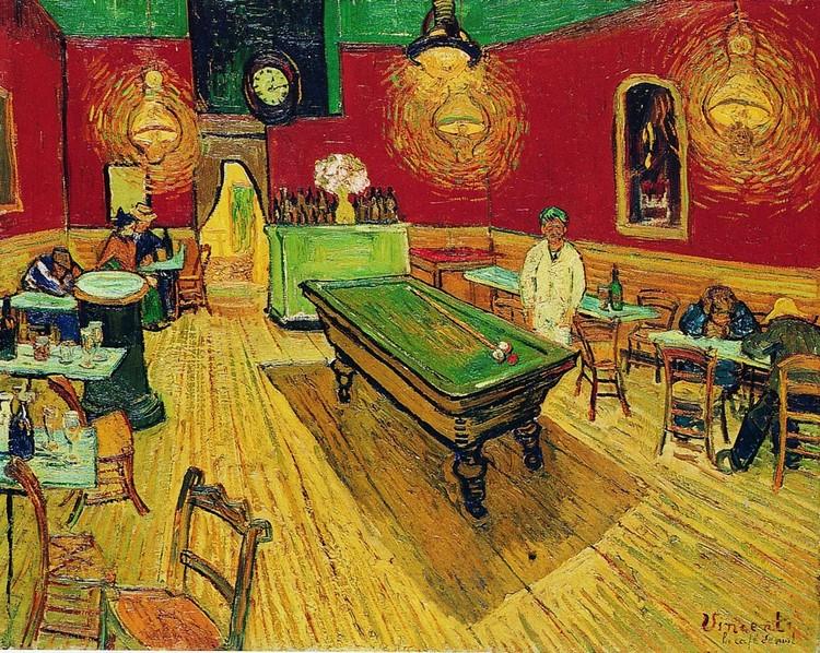 The Night Café, 1888 Taide