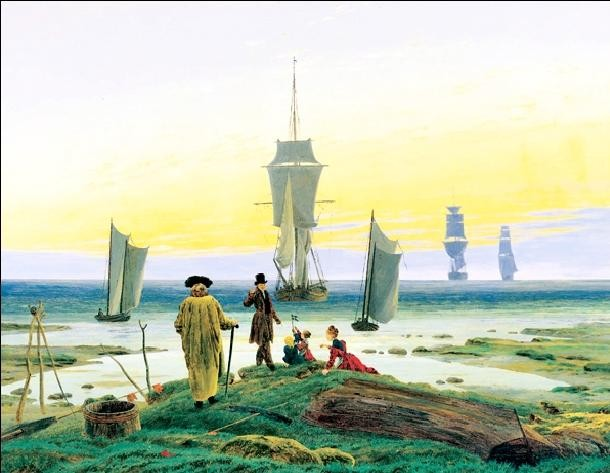 The Stages of Life, 1835 Taide