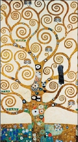 The Tree Of Life - Stoclit Frieze, 1911 Taidejuliste