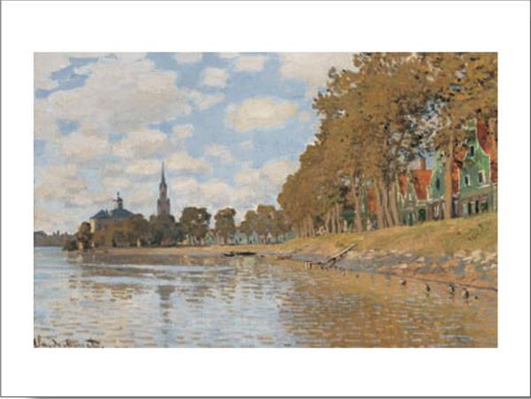 Zaandam, Holland, 1871 Taide