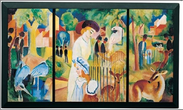 Zoological Garden, 1914 Taide