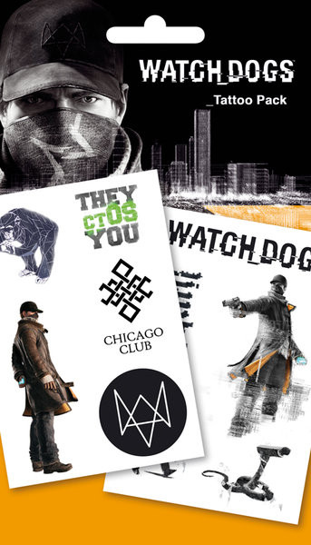 Watch Dogs - Chicago Tarratatuointi