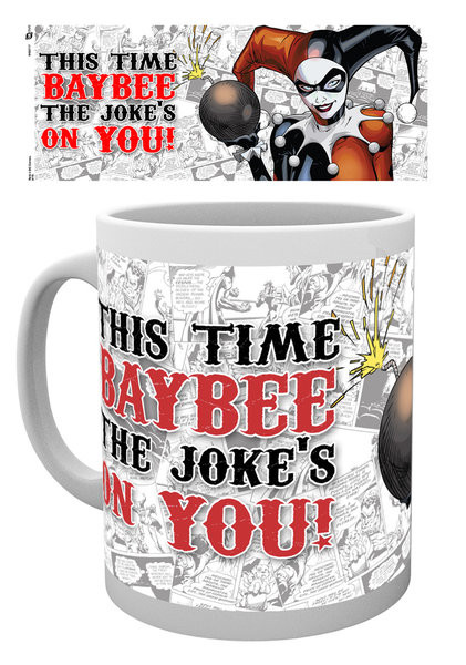 Batman Comics - Harley Quinn Jokes On You Tasse