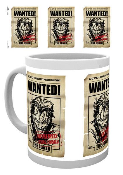 Batman Comics - Joker Wanted Tasse