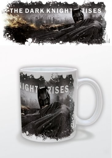 Batman The Dark Knight Rises - Cityscape Tasse