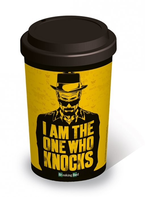 Breaking Bad - I am the one who knocks - Travel Mug Tasse