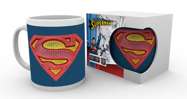 DC Comics - Superman Mesh Logo Tasse