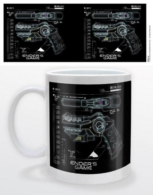Ender's game - gun Tasse