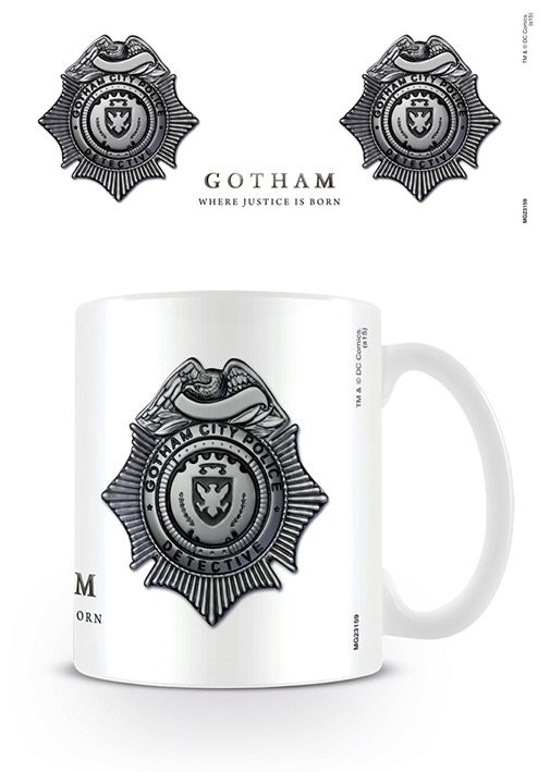 Gotham - GCPD Badge Tasse