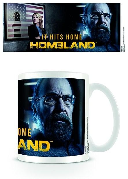 Homeland - It Hits Home Tasse