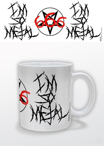 I'm So Metal Tasse