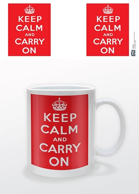 IWM - Keep Calm and Carry On Tasse