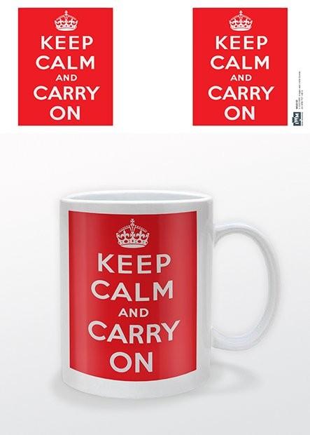 IWM - Keep Calm and Carry On Tasse