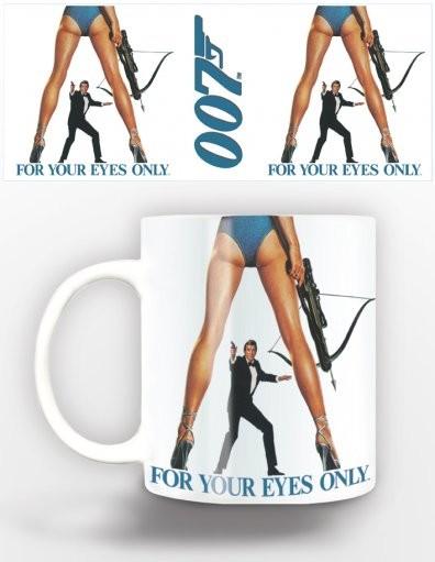 James Bond - for your eyes Tasse