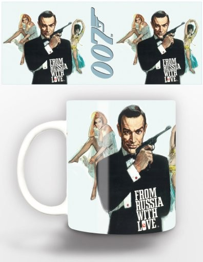 James Bond - from russia with love Tasse