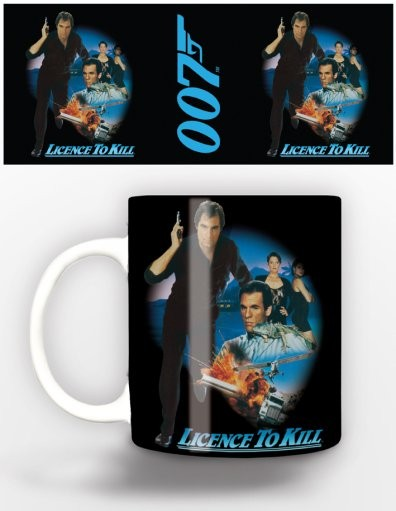 James Bond - licence to kill Tasse