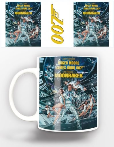 James Bond - moonraker Tasse