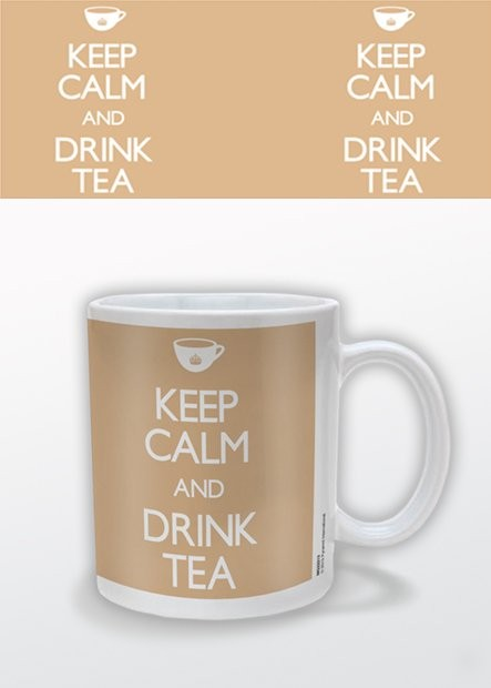 Keep Calm and Drink Tea Tasse