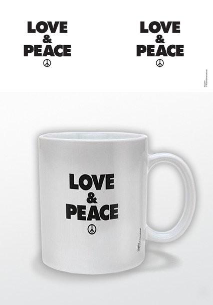 Love & Peace Tasse