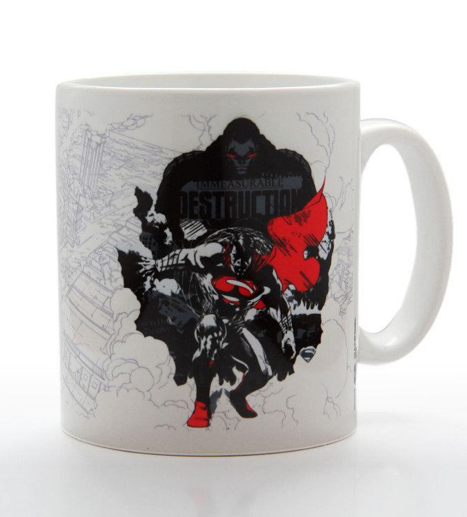 Man of Steel - Destruction Tasse