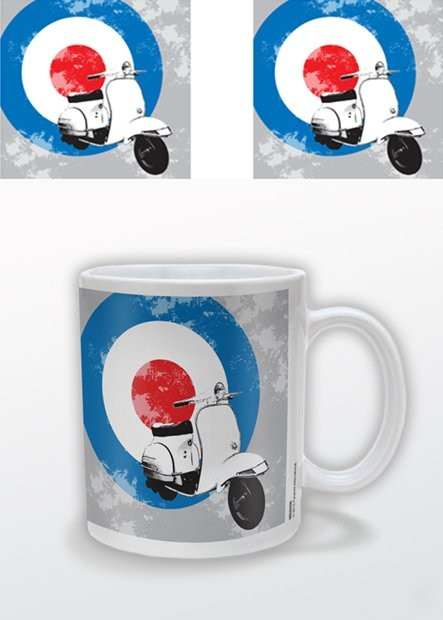 Mod Scooter with Target Tasse