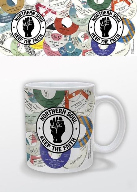 Northern Soul Labels Tasse