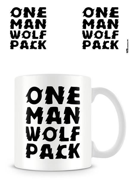 One Man Wolf Pack Tasse