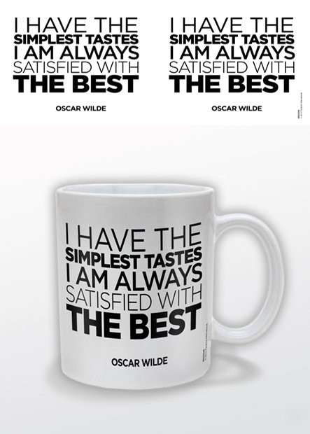 Oscar Wilde – The Best Tasse