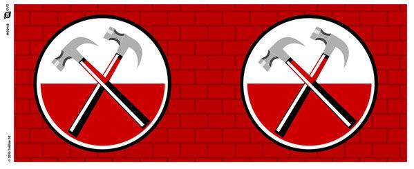 Pink Floyd: The Wall - Hammers Tasse