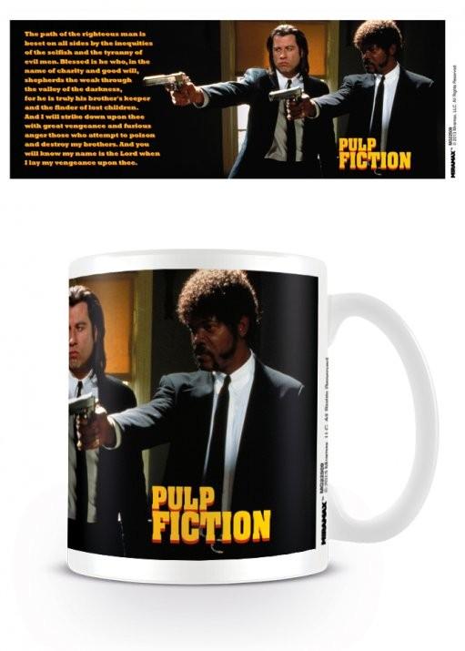 Pulp Fiction - Guns, Vincent and Jules Tasse