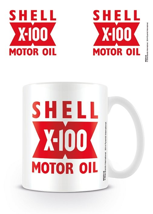 Shell - X-100 Tasse