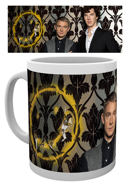 Sherlock - Smiley Tasse