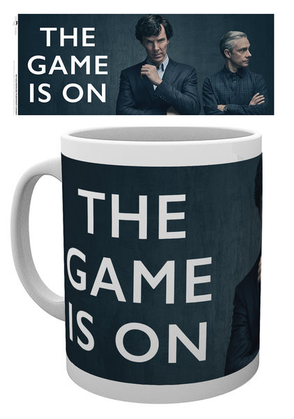 Sherlock - The Game Is On Tasse