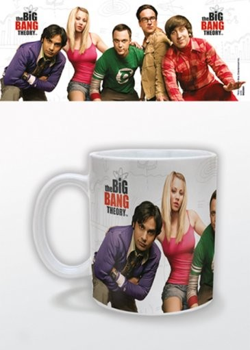 The Big Bang Theory - Cast Tasse