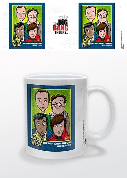 The Big Bang Theory - Geek a Week Tasse