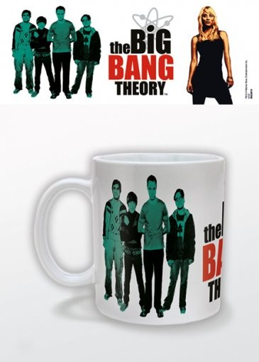 The Big Bang Theory - Green Tasse